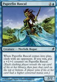 Paperfin Rascal Magic Card