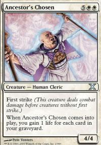 Ancestor's Chosen Magic Card