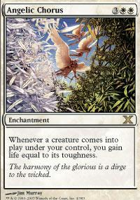 Angelic Chorus Magic Card
