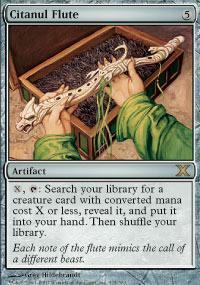 Citanul Flute Magic Card