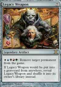 Legacy Weapon Magic Card