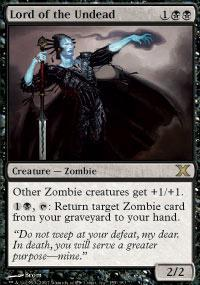 Lord of the Undead Magic Card