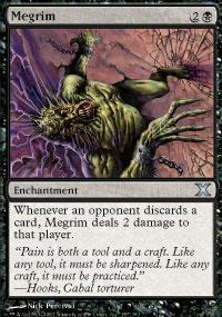 Megrim Magic Card