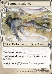 Bound in Silence Magic Card