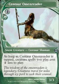 Centaur Omenreader Magic Card