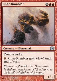 Char-Rumbler Magic Card
