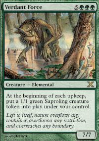 Verdant Force Magic Card