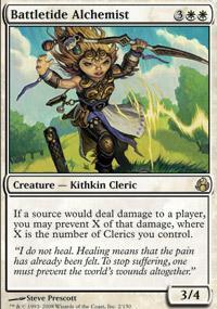 Battletide Alchemist Magic Card