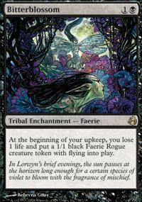 Bitterblossom Magic Card