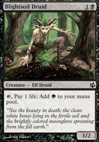 Blightsoil Druid Magic Card