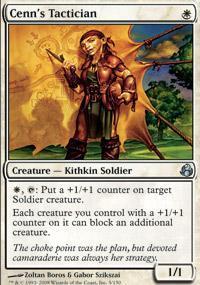 Cenn's Tactician Magic Card