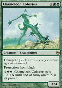 Chameleon Colossus Magic Card
