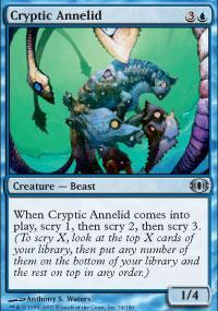 Cryptic Annelid Magic Card