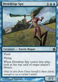 Dewdrop Spy Magic Card