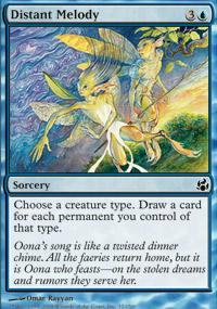 Distant Melody Magic Card