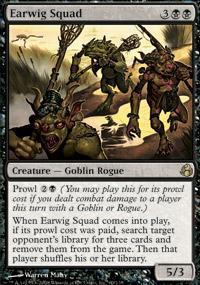 Earwig Squad Magic Card