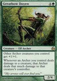 Greatbow Doyen Magic Card