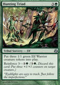 Hunting Triad Magic Card
