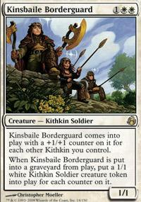 Kinsbaile Borderguard Magic Card