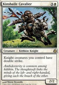 Kinsbaile Cavalier Magic Card