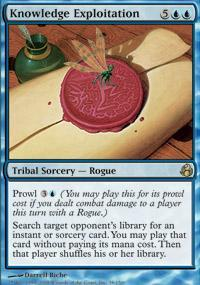 Knowledge Exploitation Magic Card