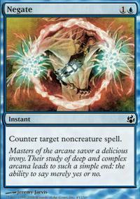 Negate Magic Card