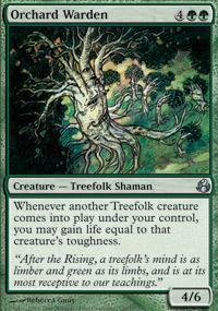 Orchard Warden Magic Card