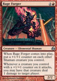 Rage Forger Magic Card