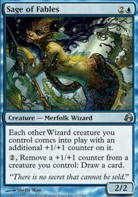 Sage of Fables Magic Card