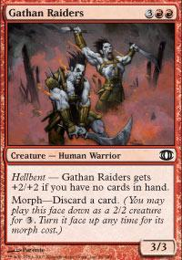Gathan Raiders Magic Card