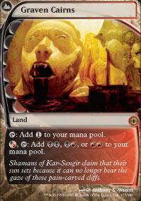 Graven Cairns Magic Card
