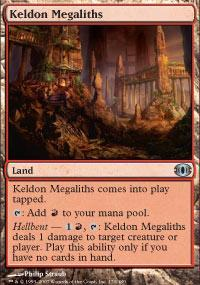 Keldon Megaliths Magic Card