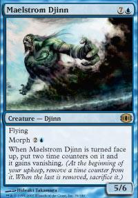 Maelstrom Djinn Magic Card
