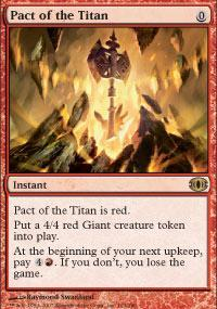 Pact of the Titan Magic Card