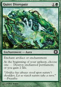 Quiet Disrepair Magic Card