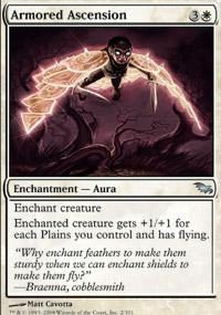 Armored Ascension Magic Card
