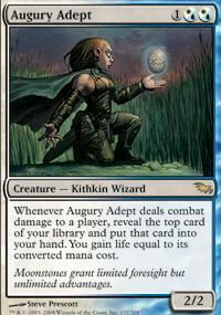 Augury Adept Magic Card