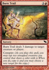Burn Trail Magic Card