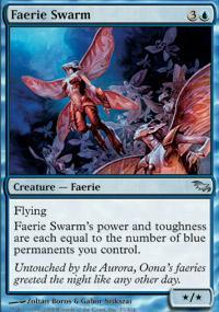 Faerie Swarm Magic Card