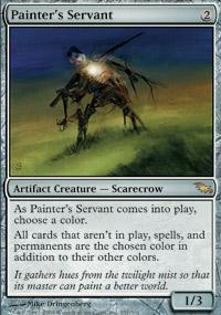 Painter's Servant Magic Card