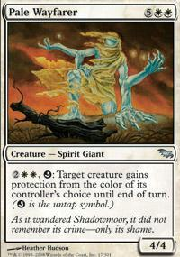 Pale Wayfarer Magic Card