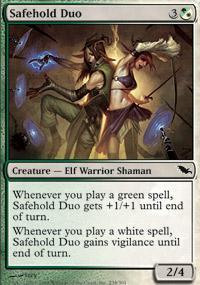 Safehold Duo Magic Card