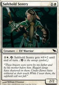 Safehold Sentry Magic Card