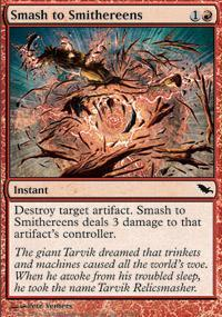 Smash to Smithereens Magic Card