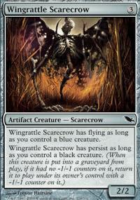 Wingrattle Scarecrow Magic Card