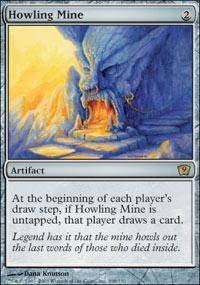 Howling Mine Magic Card