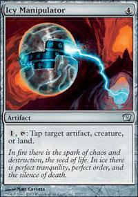 Icy Manipulator Magic Card