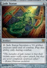 Jade Statue Magic Card