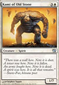 Kami of Old Stone Magic Card