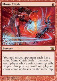 Mana Clash Magic Card